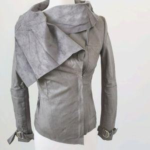 River island gray jacket UK sz 6